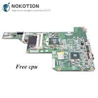 NOKOTION 615849 001 605903 001 Laptop Motherboard For HP G62 G72 CQ62 HM55 UMA DDR3 MAIN BOARD Free CPU