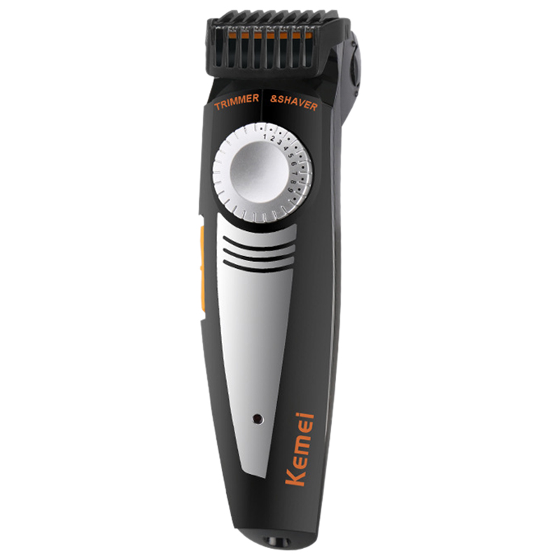 KM-819 Brand 2 in 1 Multifunction Men Electric Shaver And Hair Trimmer 100-240V Settings Cutting Length Ajustable Shaver Razor