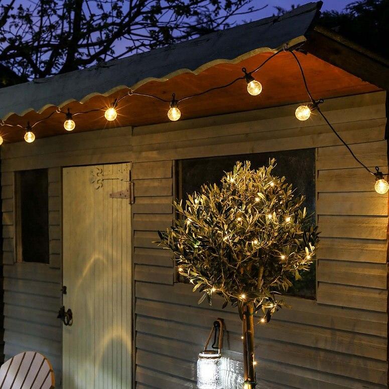 Waterdichte 15M 20 LED Lamp String Lights Aansluitbaar Plug-in voor - Vakantie verlichting - Foto 4