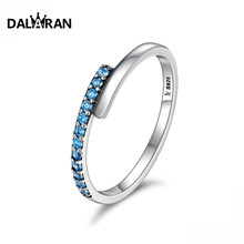 DALARAN 925 sterling silver youth charm personality adjustable light mature women hundred matching ring(China)