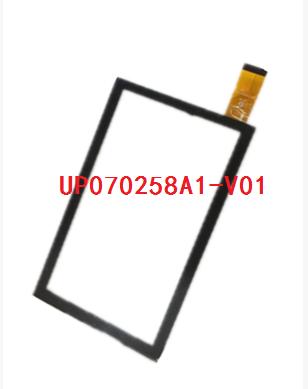 Novo original de 7 polegada tablet tela de toque capacitivo UP070258A1-V01 frete grátis
