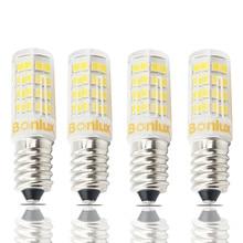 E14 LED Bulb Light 4 Watts 110V 220V Corn Bulb 2835 SMD 400lm E14 LED Lamp 40 Watts E14 Halogen Bulb Replacement, Screw Base E14