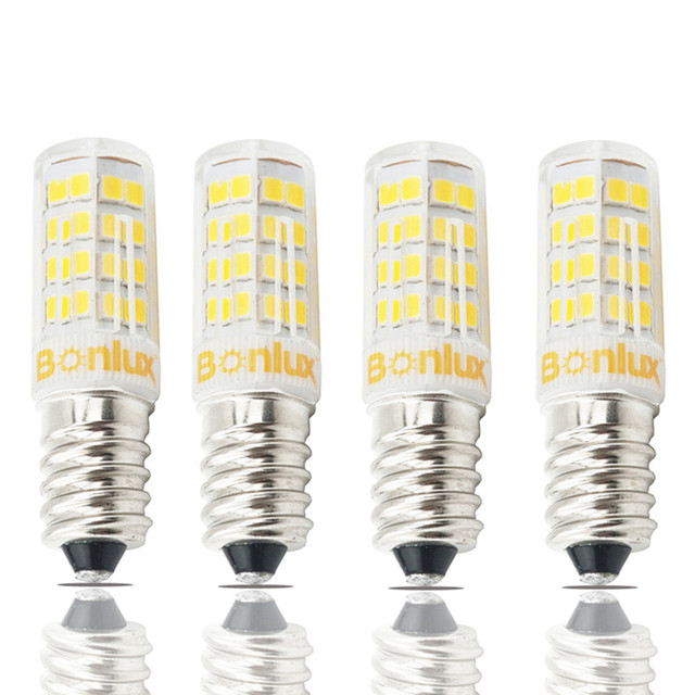 E14 LED Bulb Light 4 Watts 110V 220V Corn Bulb 2835 SMD 400lm E14 ...