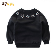 27Kids Baby Boys Girls Hoodies Clothes Children New Arrival Winter Thick Sweatshirts Toddler Casual Sweater Kids Tops Costume