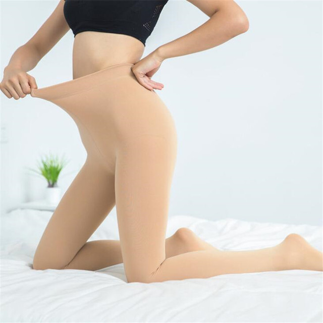 2020 Women Autumn Winter Thick Warm Legging Brushed Lining Stretch Fleece Pants Trample Feet Leggings High Elasticity Leggings 4