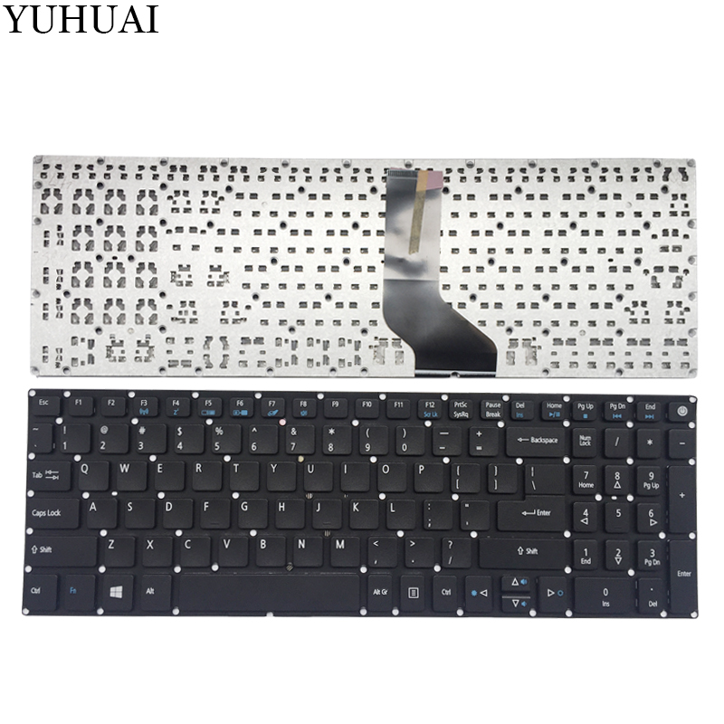 US laptop keyboard for Acer Aspire Nitro VN7-572 VN7-572G VN7-572TG VN7-592G VN7-792G English new russian keyboard for acer aspire vx15 vn7 593 vn7 793 vx5 591 ru laptop keyboard backlit