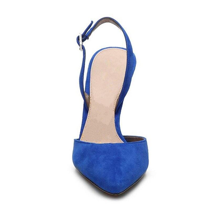 Tamaño Abierta Bolso Zyl2373 Black Las Puntera blue Mujeres Con 43 Alto Zapatos Mujer Sandalias Enmayer 34 De Tacón R7ZC7qw