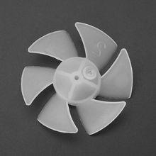 Small Power Mini Plastic Fan Blade 4/6 Leaves For Hairdryer Motor 1pcs 4 blades plastic fan blade for hair dryer fan parts