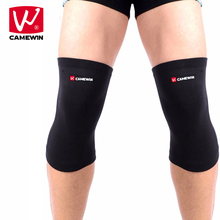 CAMEWIN 1 Pair Black Knee Pads Knee Guard for Men and Women High Elasticity Knee Protector for Riding Basketball Football cheap Cotton+Nylon+Spandex CW011 Universal