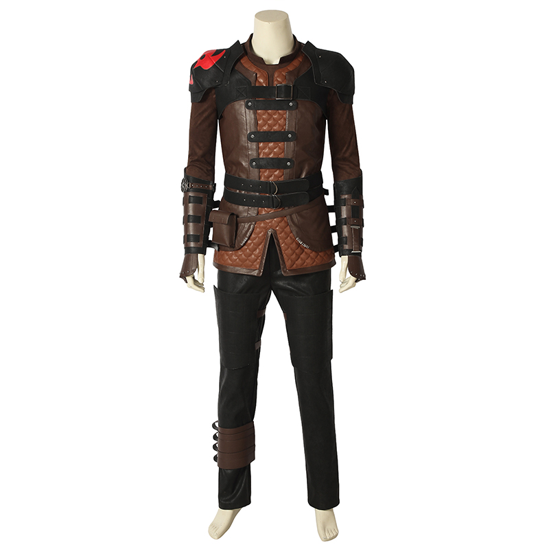 How To Train Your Dragon 3 Cosplay The Hidden World Hiccup Costume Halloween Christmas Adult Uniform Outift Full Set Custom Made