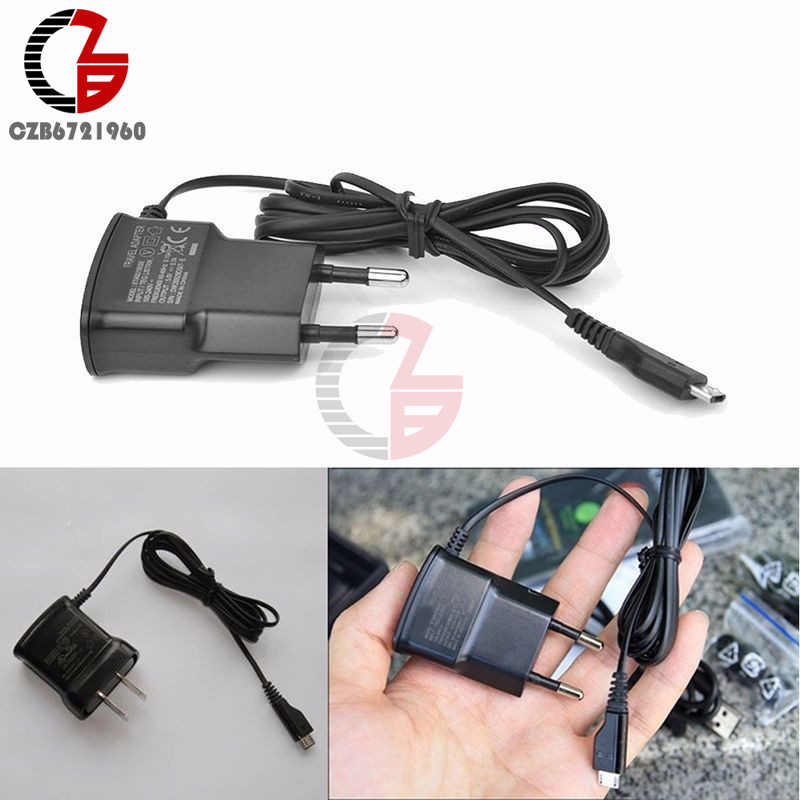 EU Plug 5V Fast Charging Micro USB Charger Adapter For Samsung HTC LG Sony Cell Phones 70cm Cable