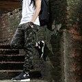 Heybig Марка Мужские Бегунов Брюки Hip Hop Камуфляж Брюки камо костюм Мужчины Военный Скейтборд Тренировочные Брюки Китайский РАЗМЕР