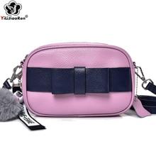Fashion Genuine Leather Crossbody Bags for Women Famous Brand Shoulder Bag Female Simple Messenger Bag Sac A Main Bolsa Feminina