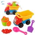 Xfc novo 5 pcs caminhão pá pá pá pá de areia conjunto ferramentas de brinquedo praia play crianças crianças seaside poço de água