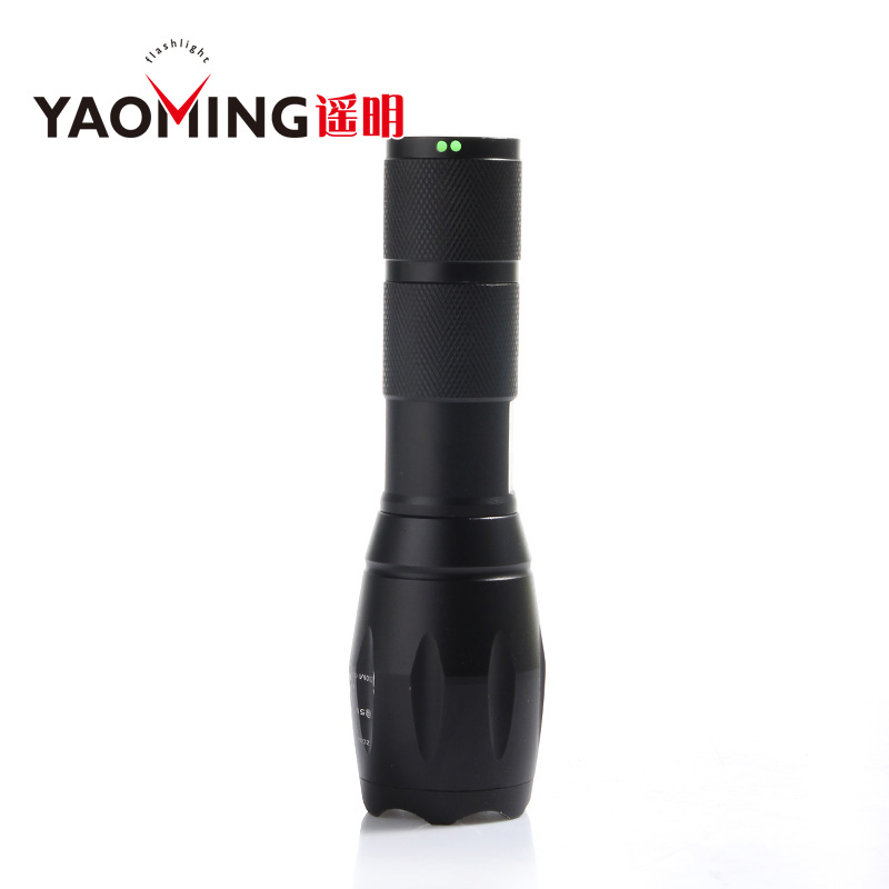 E17 CREE XM-L T6 3800LM aluminium zoomable rechargeable tactical flashlight G700 linterna led Torch Lamp by 18650 or 3*AAA