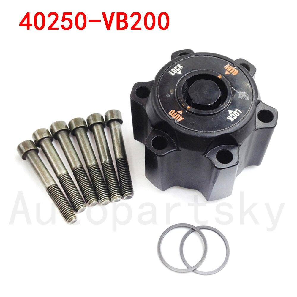 1X Auto Free Wheel Hub Lock For Patrol GU Y61 TD42 TD3.0 TD2.8 ST STI 40250VB200