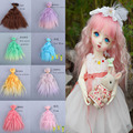 1Pcs/lot Hot Sale Doll Wig  BJD SD DIY High-temperature Wire Handmade Doll Wigs Corn hot small volume 15*100CM