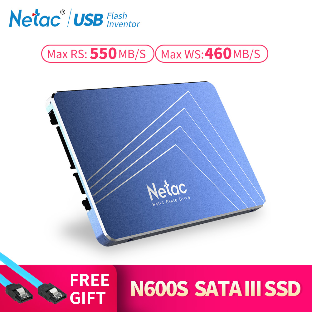 Netac N500S 240 GB 2.5'' 480GB SSD 120GB 1TB Hard Disk TLC 60GB Laptop