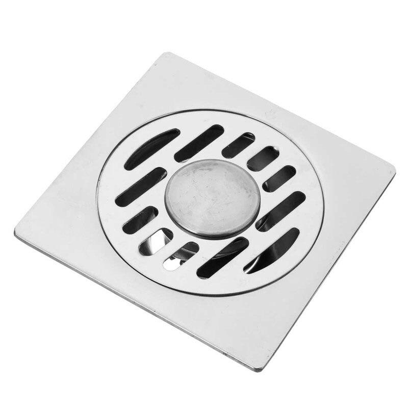 Bathroom Drainer Building Materials Stainless Steel Anti Odor Floor Drain Kitchen Shower Bathroom Building Materials