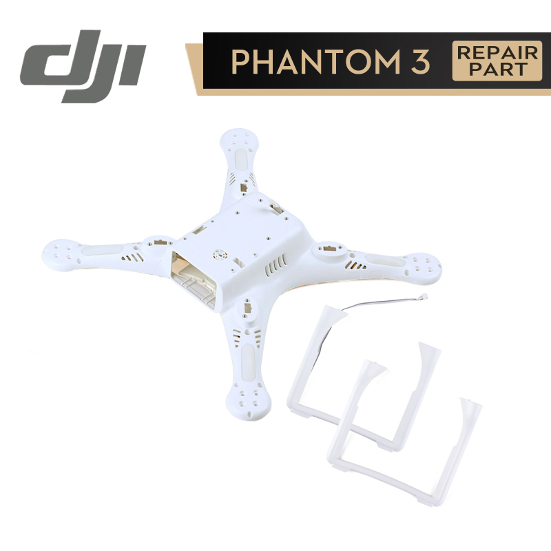 DJI Phantom 3 Pro / Adv Landing Gear Bottom Shell Body Cover for Phontom3 Pro Adv Housing Legs Repair Parts Original Accessories dji phantom 4 pro body upper shell middle shell landing gear for phontom4 pro housing original accessories parts