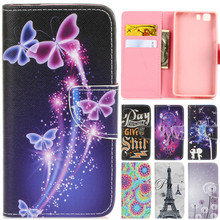 Luxury Cute Cartoon Dream Butterfly Lover Dandelion Leather Flip Fundas Coque Case For Doogge X5 / Doogge X5 Max Back Cover Capa