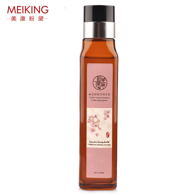 Peonía cara suave de la piel de tóner tónico suave simple toners facial para piel mixta seca aceitosa sensibles mujeres marca meiking 120 ml