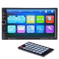 7'' HD Touch Screen Car Video Player Bluetooth Stereo Radio FM/MP5/MP4/MP3/Audio/ USB Auto Electronics In Dash 2 Din Automobile