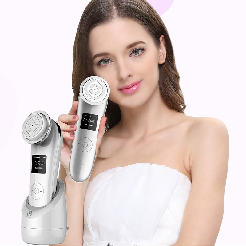 Multi-function beauty machine Radio Frequency Skin Rejuvenation  EMS Firming & Lifting Machine Wrinkles removal Instrument RF mini portable usb rechargeable ems rf radio frequency skin stimulation lifting tightening led photon rejuvenation beauty device
