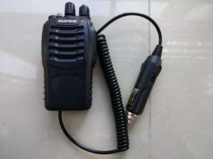 Image 3 - Baofeng 888S walkie talkie eliminator car charger Battery Case Eliminator Baofeng bf 888s Car Charger For BF 888S H 777 H777 666