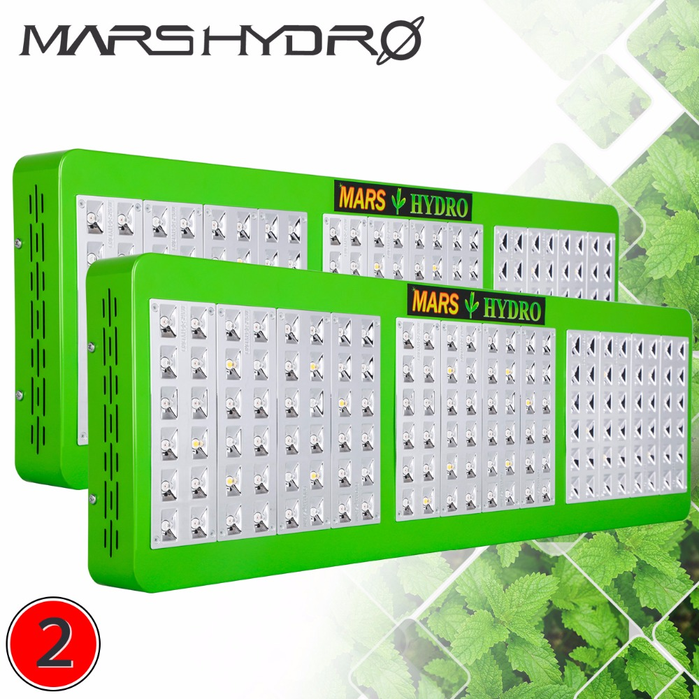 2pcs Full Spectrum Refelctor720W LED Grow Light Panel Growth&Bloom Switches for Hydroponic Grow Indoor plant or Green house use