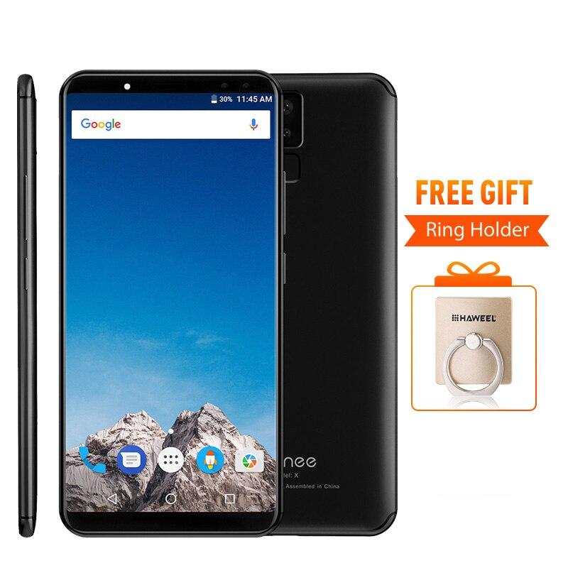 vernee X 4GB RAM 64GB 6.0 inch 18:9 IPS Screen MTK6763 Octa Core Android 7.1 Smartphone 13MP Fingerprint 6200mAh OTG Cellphone