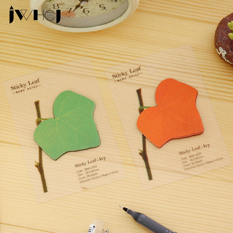 1 pcs creative ivy tree leaf pad paper sticky notes post notepad memo stationery papeleria school office supplies kids gifts