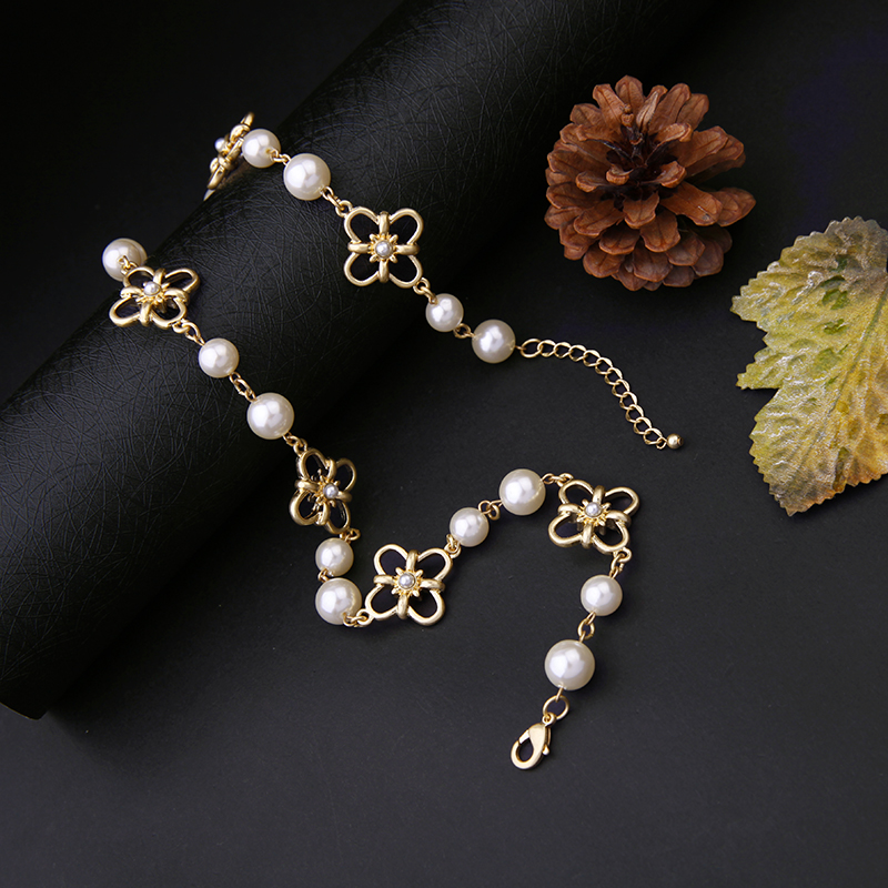 Aliexpress.com : Buy Princess Jewelry Exquisite Plated Flower Gold ...
