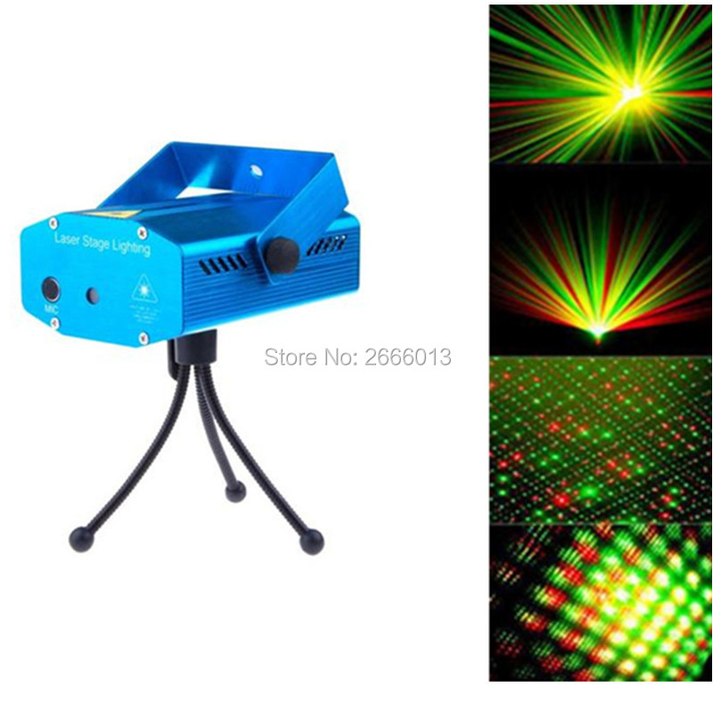 High quality Portable multi LED bulb Mini Laser Projector DJ Disco Stage Light Xmas Party Lighting Show RG laser KTV LED Lights high quality southern laser cast line instrument marking device 4lines ml313 the laser level