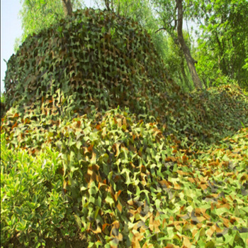 3X7M 2 Layer Camouflage Net Military Outdoor Camping Hunting Camo Netting Garden Wedding Party Decoration Balcony Shelter Net