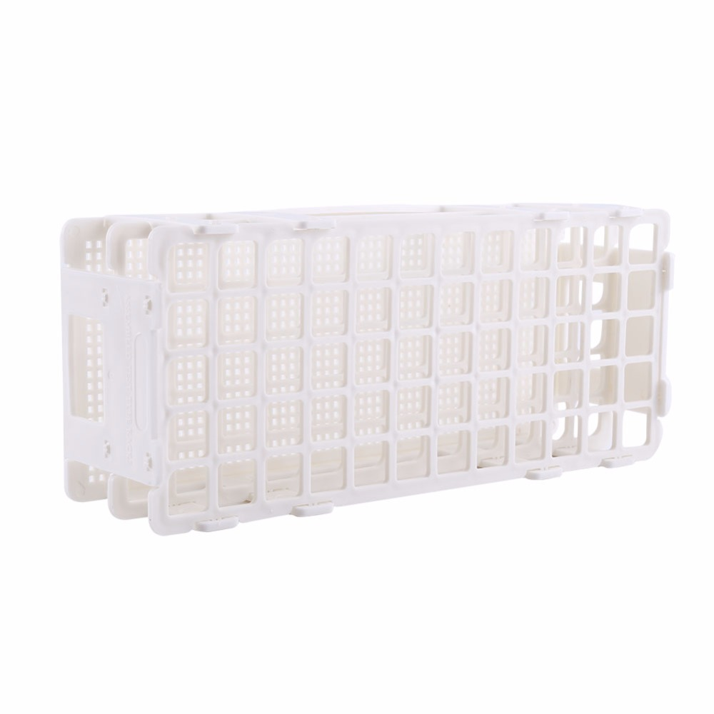 Test Tube Stand Plastic Test Tube Rack 60 Holes Holder Storage Stand Lab 3 Layers 16mm