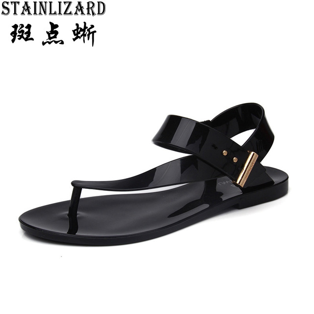 Women Sandals 2017 Summer Casual Bohemia Flat Women Shoes New Fashion Beach Sandals Solid Women Casual Shoes ST1009