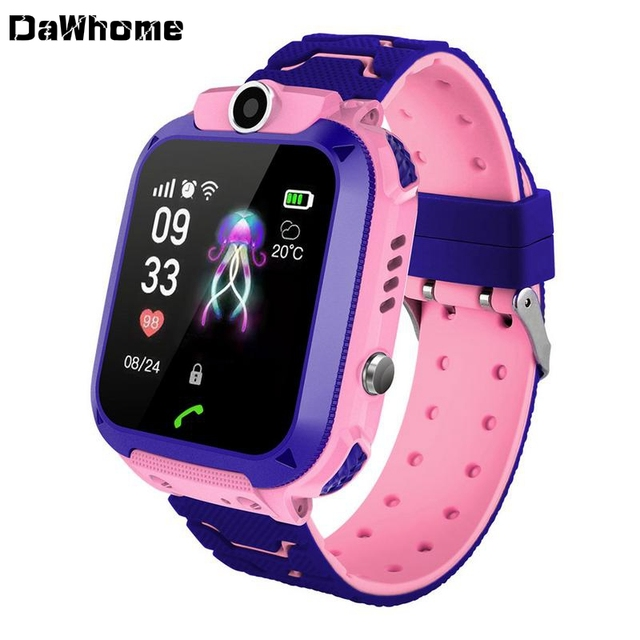 2019 Students Smart Watch LBS Kids Baby Watch for Children HD Camera SOS Call Location Finder Locator Tracker Anti Lost Monitor