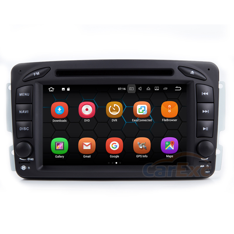 2G RAM Android 9.0 Car Multimedia Stereo Player For Benz Old C Class W203 W209 With DVD GPS Navigation WiFi Bluetooth Head Unit|car android player|car navigation bluetoothgps navigation for car - title=