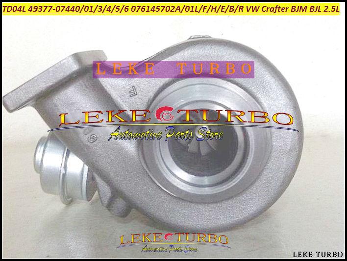 TD04L 49377-07440 49377-07401 076145702A 076145701L Turbo Turbocharger For VW Crafter 2006- BJM BJL R5 2.5L TDI LT3 Euro4 2.5L (3)