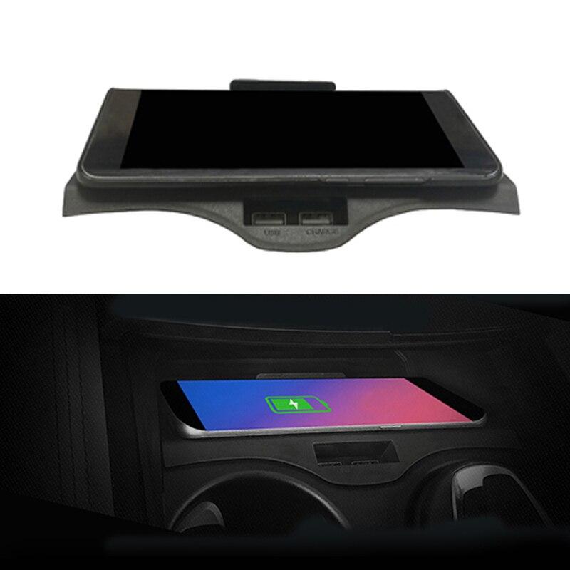 Para BMW Série 5 6 G30 G38 F10 GT 530 carro QI carregador sem fio adaptador de carregamento rápido de telefone sem fio telefone acessórios titular
