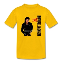 Michael Jackson Bad Graphic T Shirt 2017 Cotton  Baby Boy Shirt Rock Meninos roupas Boys Clothes Camisa