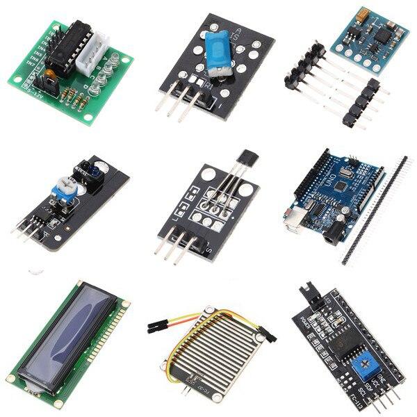 UNO Mega pour Nano capteur relais bluetooth Wifi LCD Kit de démarrage débutant pour Arduino - 3