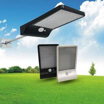 Street Light Solar Lamp Outdoor Led Light Wall Garden Security PIR Motion Sensor Solar Lampada Waterproof IP65 Decorative