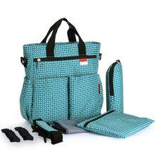 купить Mummy Diaper Handbag Large Capacity Maternity Nappy Baby Travel Tote Shoulder Bag with Changing Pad Stroller Straps Shoulder Str по цене 1358.2 рублей
