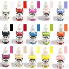 30 мл Аэрограф цвет для пигмент для ногтей водонепроницаемые цвета аэрограф чернила для распылителя Nkjet натуральный завод