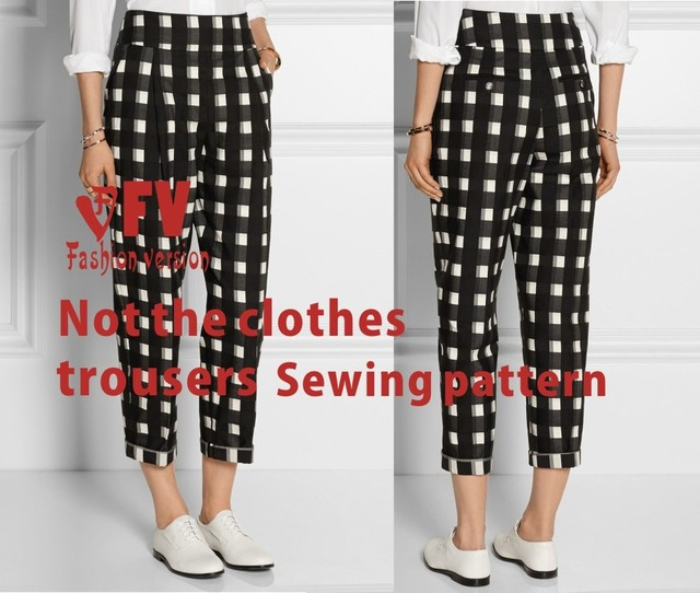 Haroun pants sewing pattern The trousers pattern(Not the pants) BCK ...