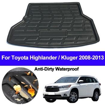 Rear Boot Cargo Liner Trunk Floor Mat Carpet Mats Tray Mat Carpets For Toyota Highlander Kluger 2008 2009 2010 2011 2012 2013