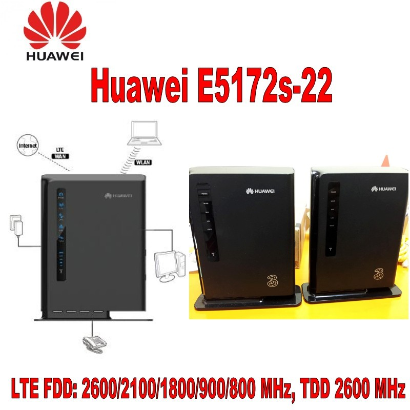 Lot of 100pcs HUAWEI E5172s-22 LTE FDD UNLOCKED IN BOX With 1000mAh battery 100pcs lot hgtg20n60a4d 20n60a4d in stock