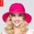 Bowknot de la señora 5 Colores Dom Sombrero de la Manera Del Sol Al Aire Libre Verano femenino Anti-Ultravioleta Casquillo de Las Mujeres de Algodón Sombra Gorra de Ala Ancha B-3709